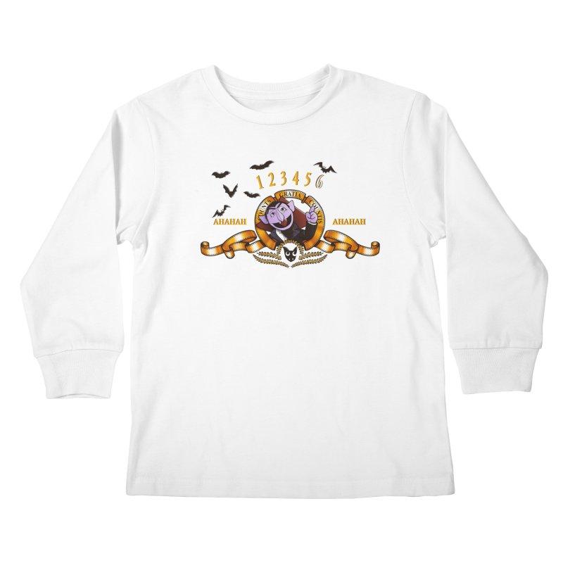 Counts Gratia Countis Kids Longsleeve T-Shirt by ikado's Artist Shop