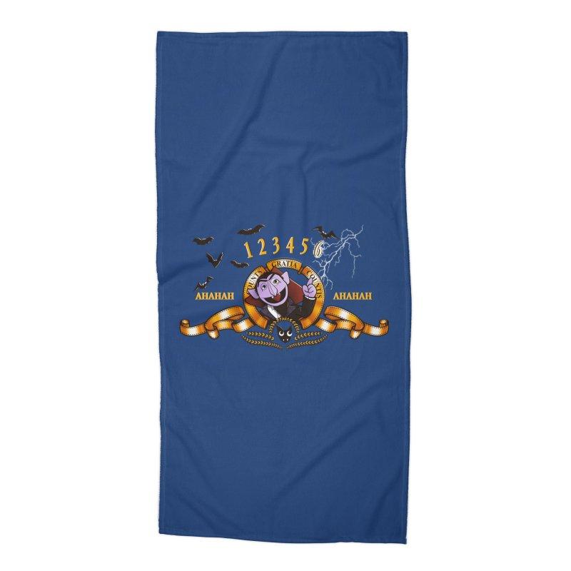 Counts Gratia Countis Accessories Beach Towel by ikado's Artist Shop