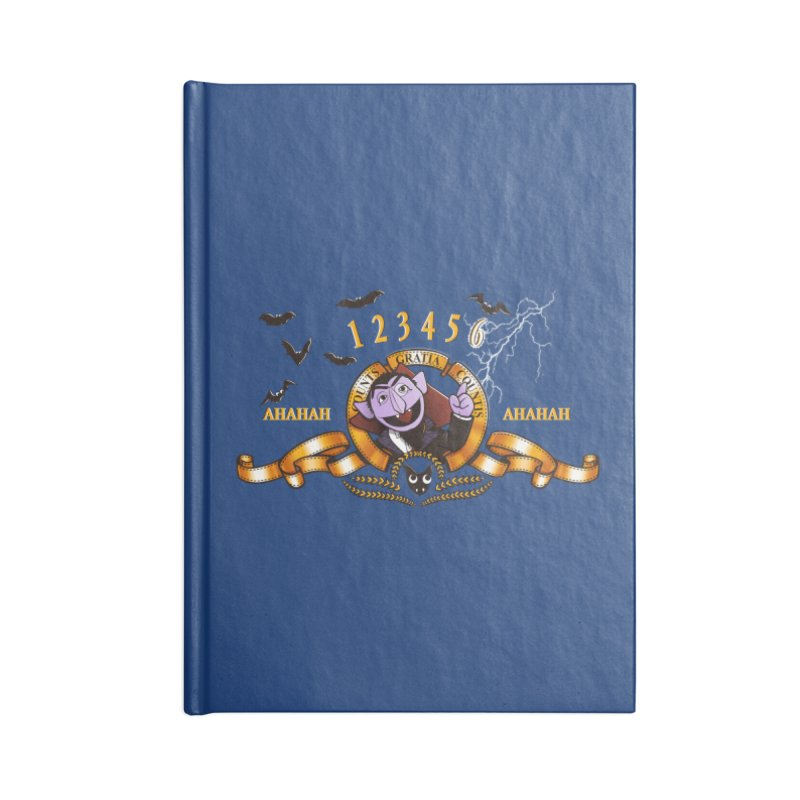 Counts Gratia Countis Accessories Notebook by ikado's Artist Shop