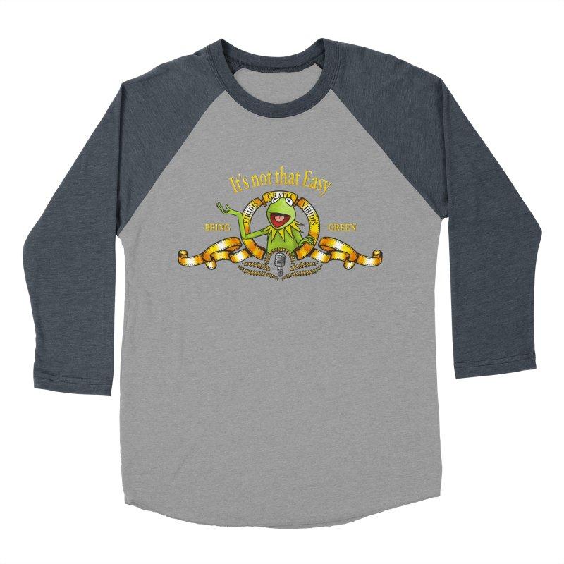 It's not that easy Men's Baseball Triblend T-Shirt by ikado's Artist Shop