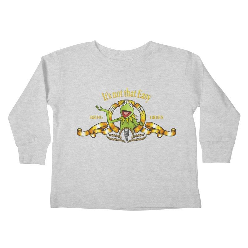 It's not that easy Kids Toddler Longsleeve T-Shirt by ikado's Artist Shop