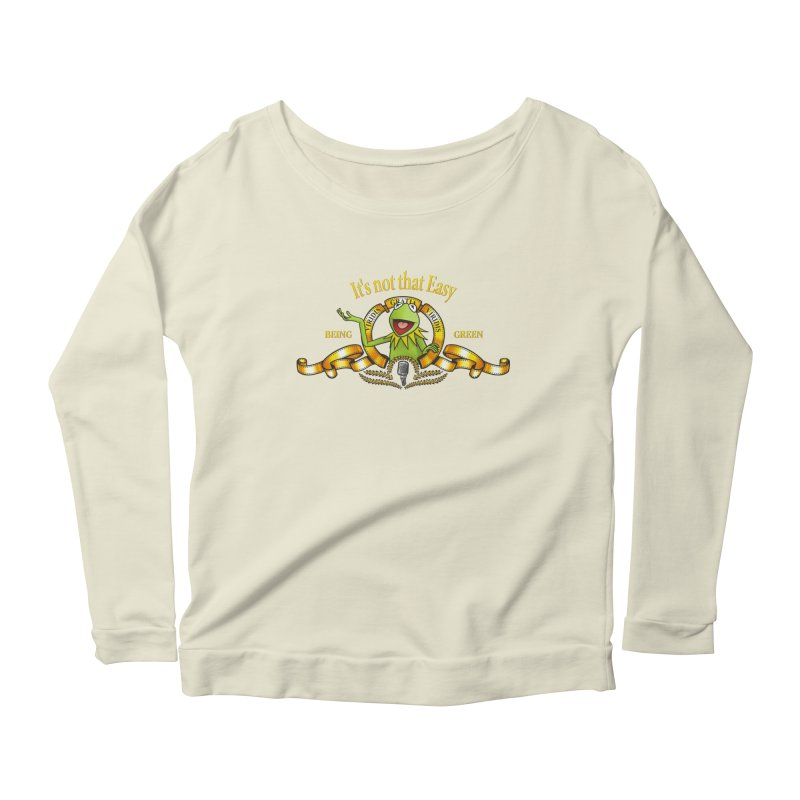 It's not that easy Women's Longsleeve Scoopneck  by ikado's Artist Shop