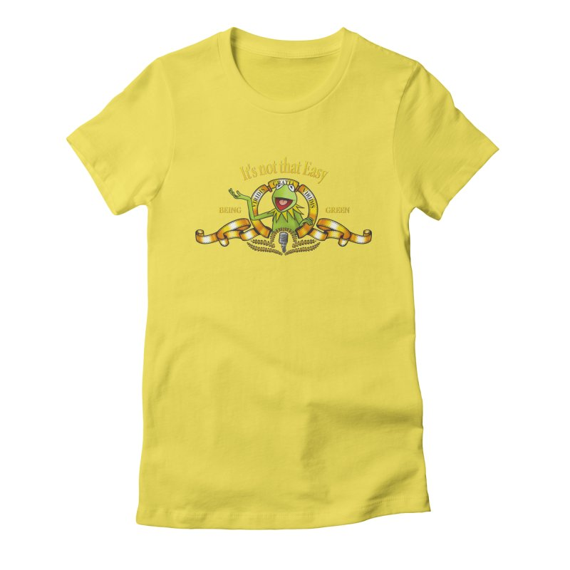 It's not that easy Women's Fitted T-Shirt by ikado's Artist Shop