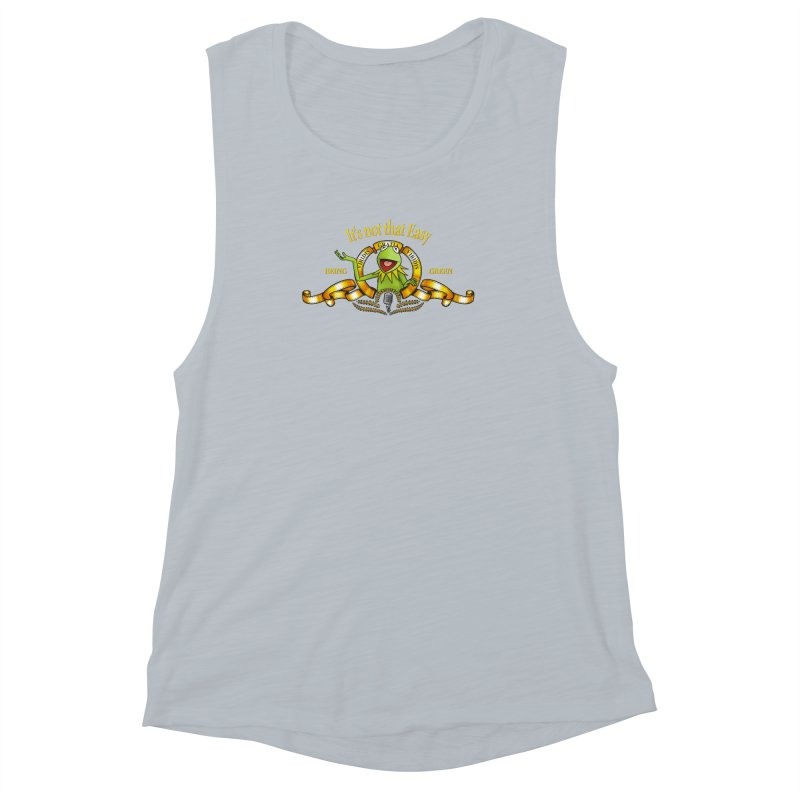 It's not that easy Women's Muscle Tank by ikado's Artist Shop