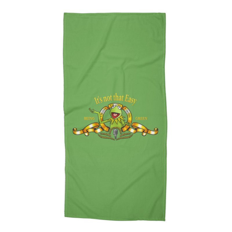 It's not that easy Accessories Beach Towel by ikado's Artist Shop