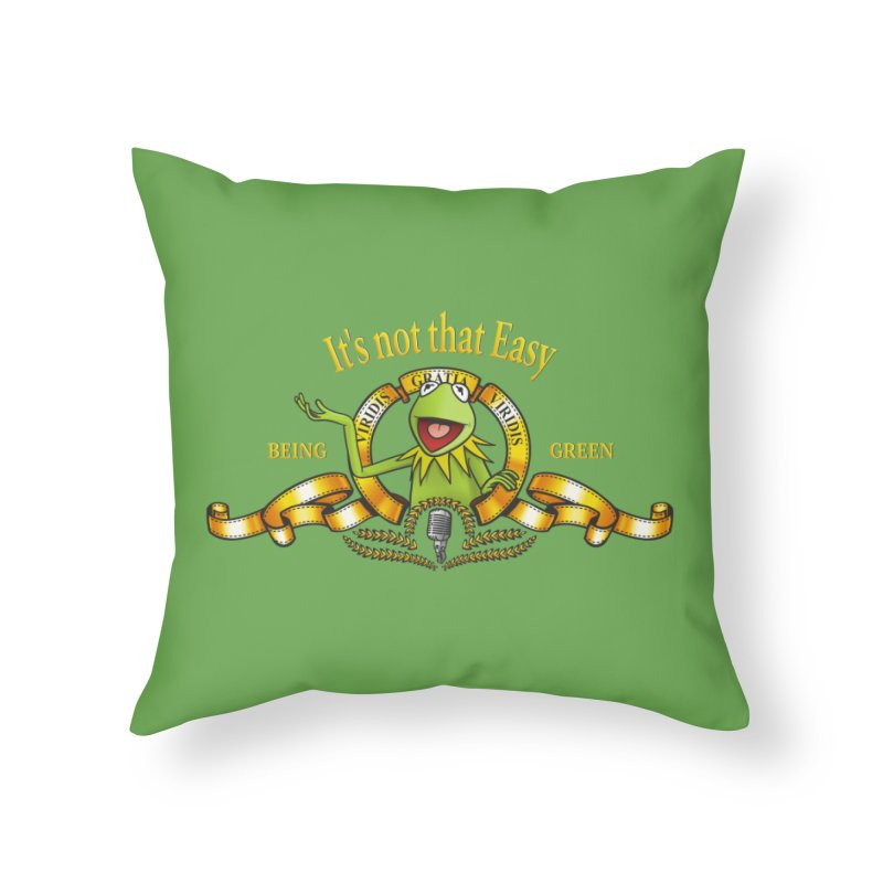 It's not that easy Home Throw Pillow by ikado's Artist Shop
