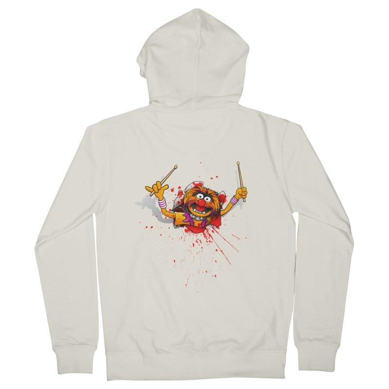 Animalien Men's Zip-Up Hoody by ikado's Artist Shop
