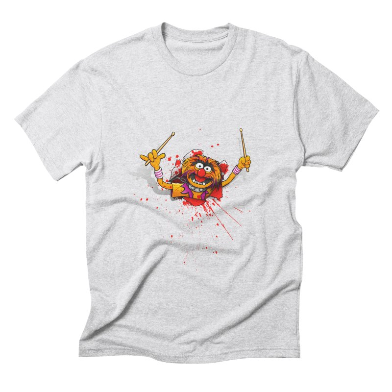 Animalien Men's Triblend T-Shirt by ikado's Artist Shop