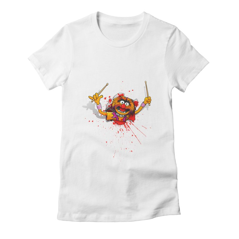 Animalien Women's Fitted T-Shirt by ikado's Artist Shop