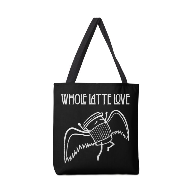 Whole Latte Love Accessories Tote Bag Bag by ikado's Artist Shop