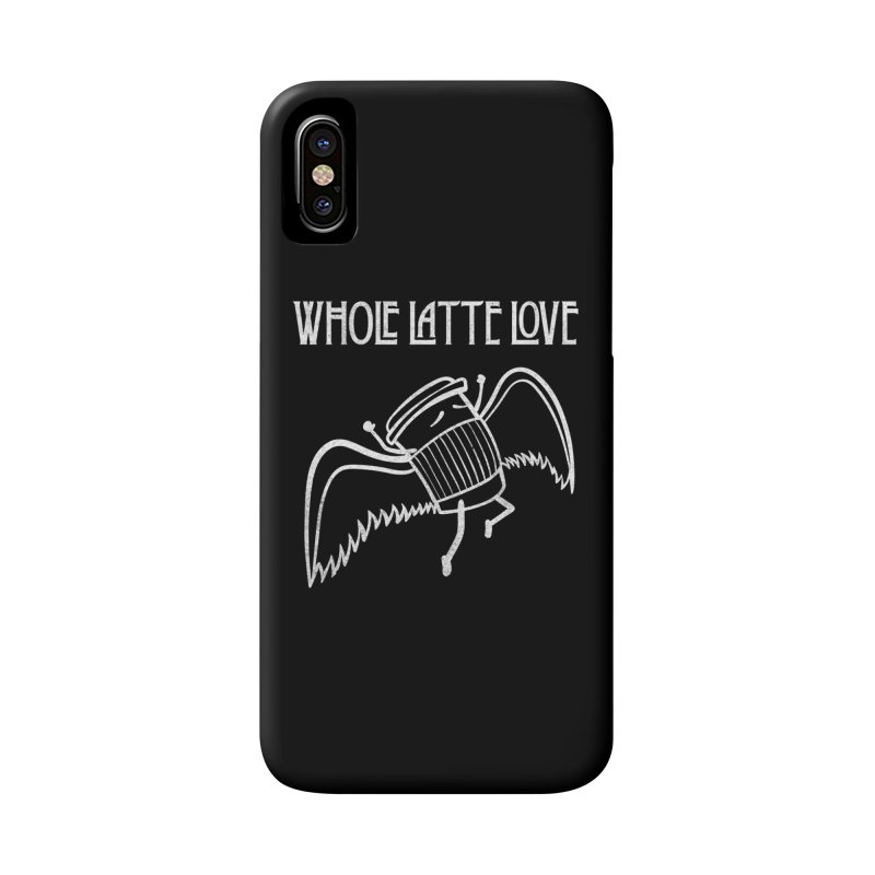 Whole Latte Love Accessories Phone Case by ikado's Artist Shop