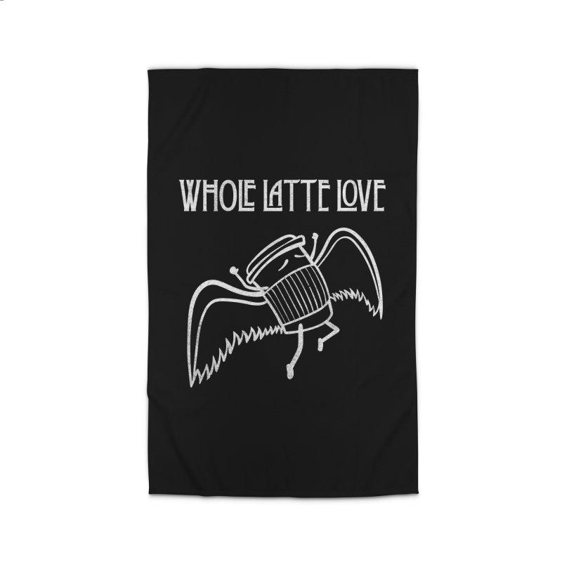 Whole Latte Love Home Rug by ikado's Artist Shop
