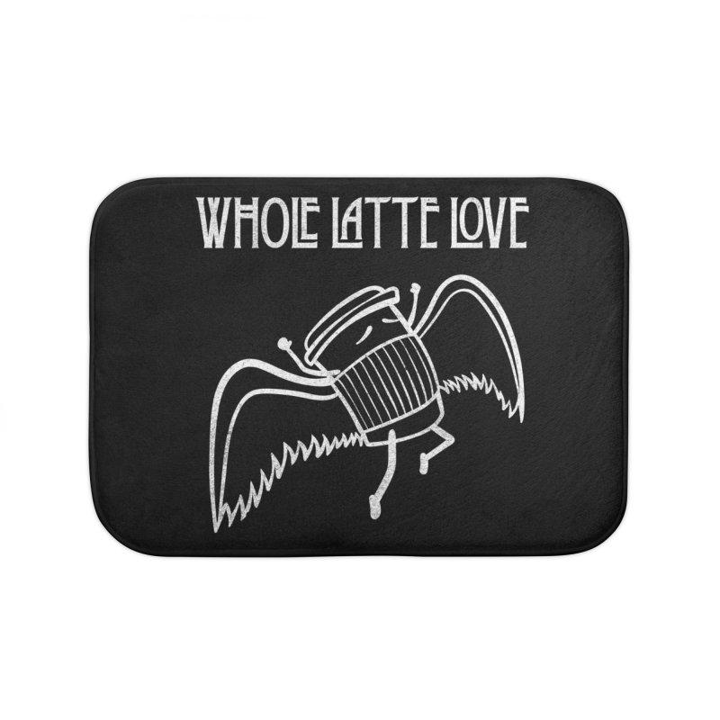 Whole Latte Love Home Bath Mat by ikado's Artist Shop