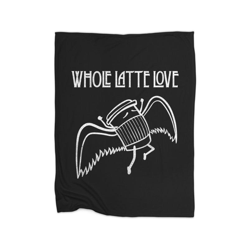 Whole Latte Love Home Blanket by ikado's Artist Shop