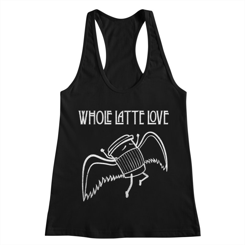 Whole Latte Love Women's Racerback Tank by ikado's Artist Shop