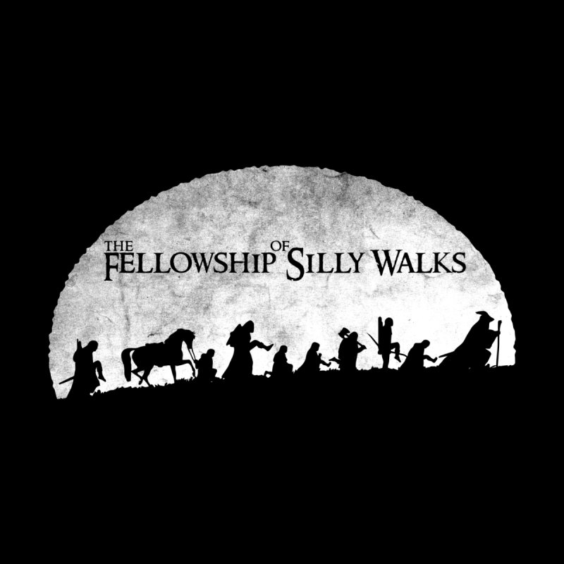 The Fellowship of Silly Walks by ikado's Artist Shop