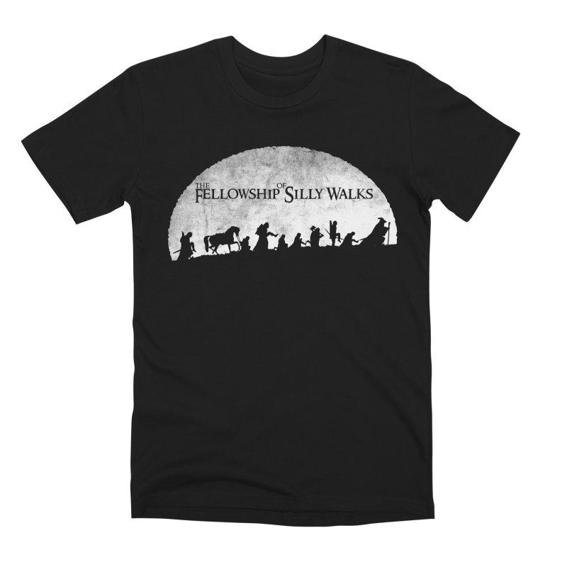 The Fellowship of Silly Walks Men's Premium T-Shirt by ikado's Artist Shop