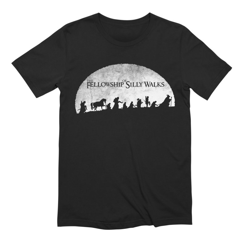 The Fellowship of Silly Walks Men's Extra Soft T-Shirt by ikado's Artist Shop