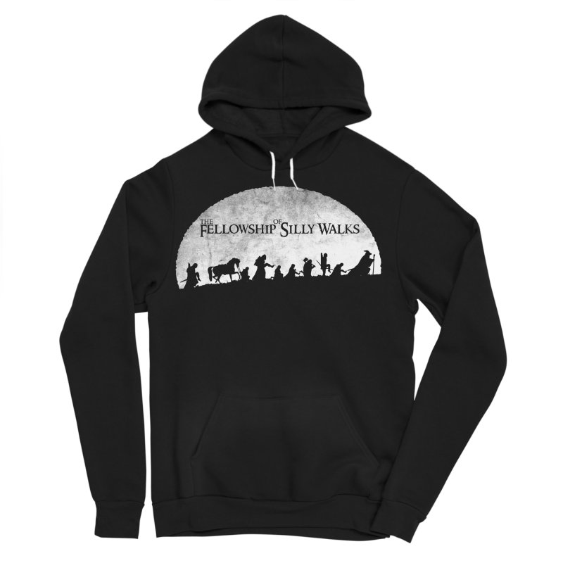 The Fellowship of Silly Walks Men's Sponge Fleece Pullover Hoody by ikado's Artist Shop