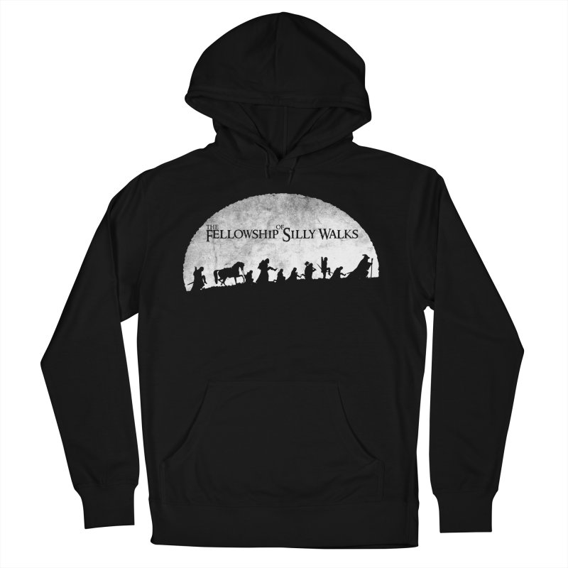The Fellowship of Silly Walks Men's French Terry Pullover Hoody by ikado's Artist Shop