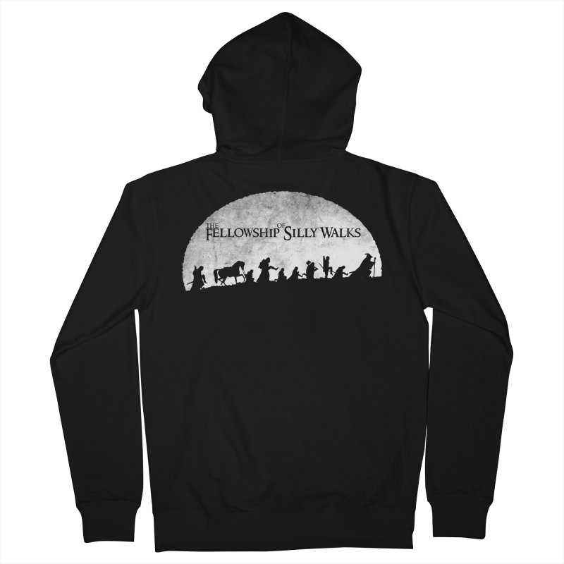 The Fellowship of Silly Walks Men's Zip-Up Hoody by ikado's Artist Shop