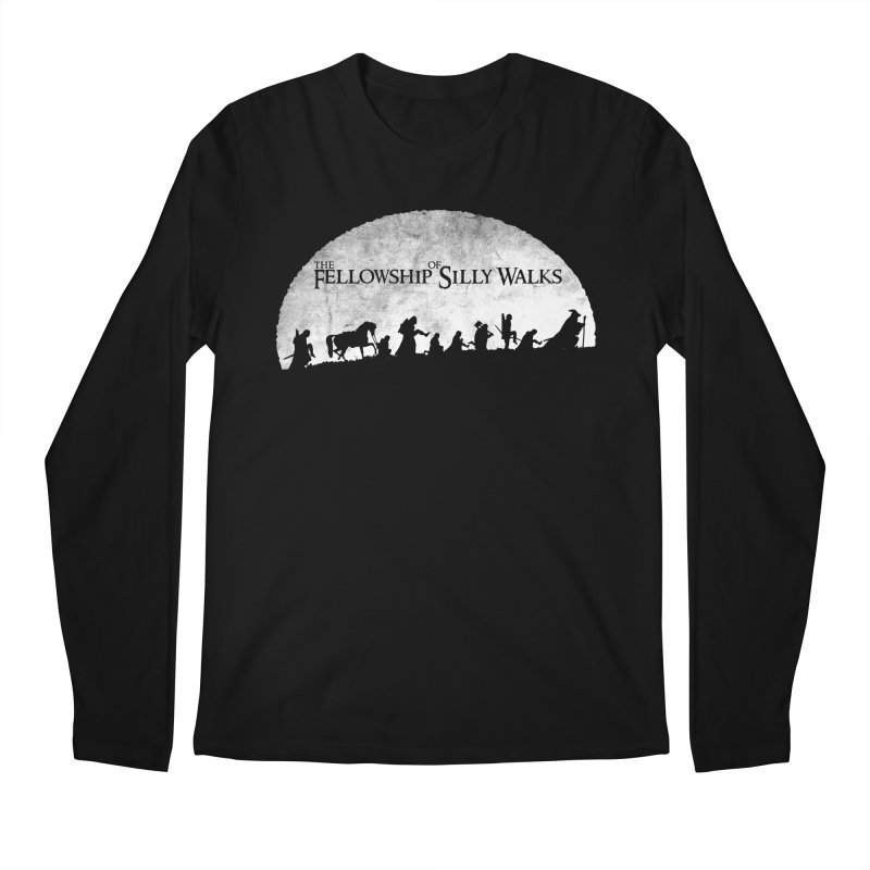 The Fellowship of Silly Walks Men's Regular Longsleeve T-Shirt by ikado's Artist Shop
