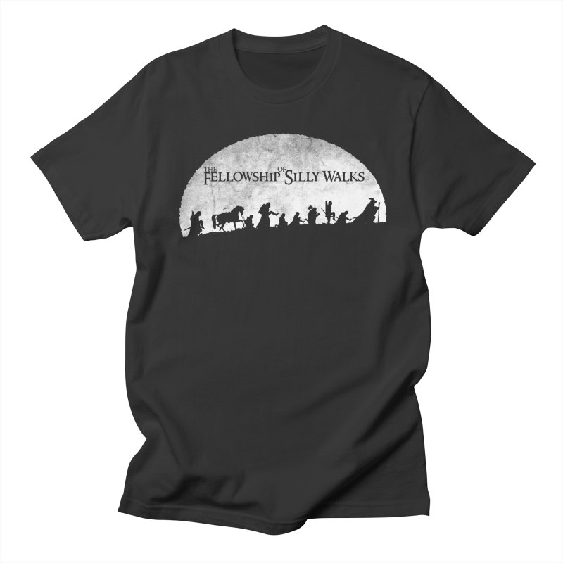 The Fellowship of Silly Walks Women's Regular Unisex T-Shirt by ikado's Artist Shop
