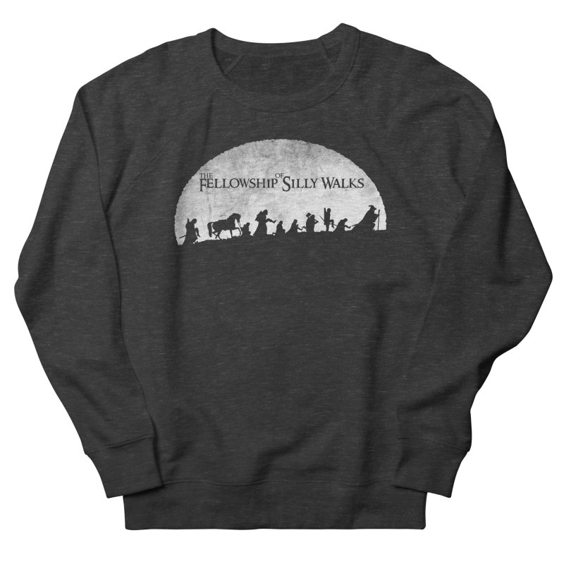 The Fellowship of Silly Walks Women's French Terry Sweatshirt by ikado's Artist Shop