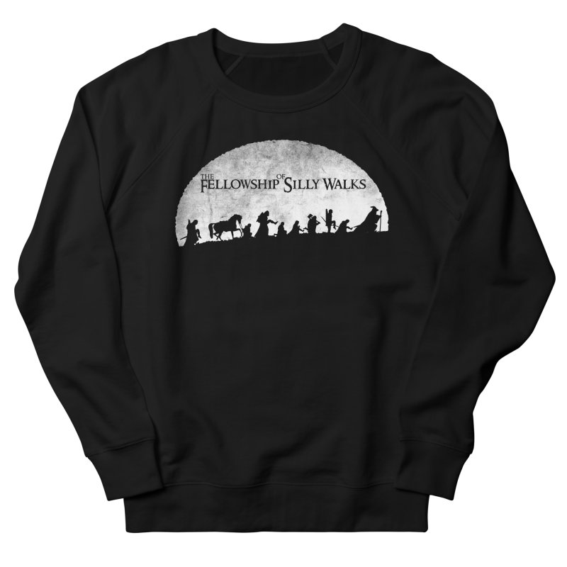 The Fellowship of Silly Walks Men's French Terry Sweatshirt by ikado's Artist Shop