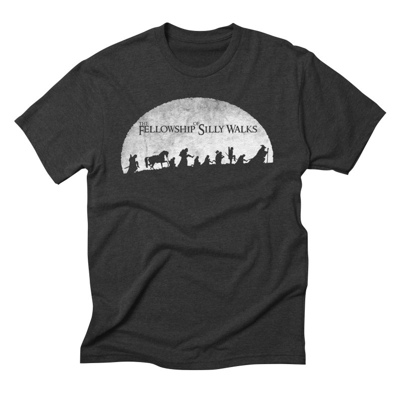 The Fellowship of Silly Walks Men's Triblend T-Shirt by ikado's Artist Shop