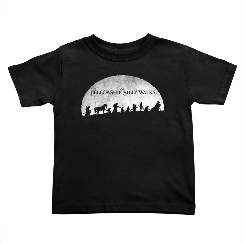 The Fellowship of Silly Walks Kids Toddler T-Shirt by ikado's Artist Shop