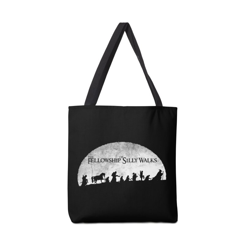 The Fellowship of Silly Walks Accessories Bag by ikado's Artist Shop