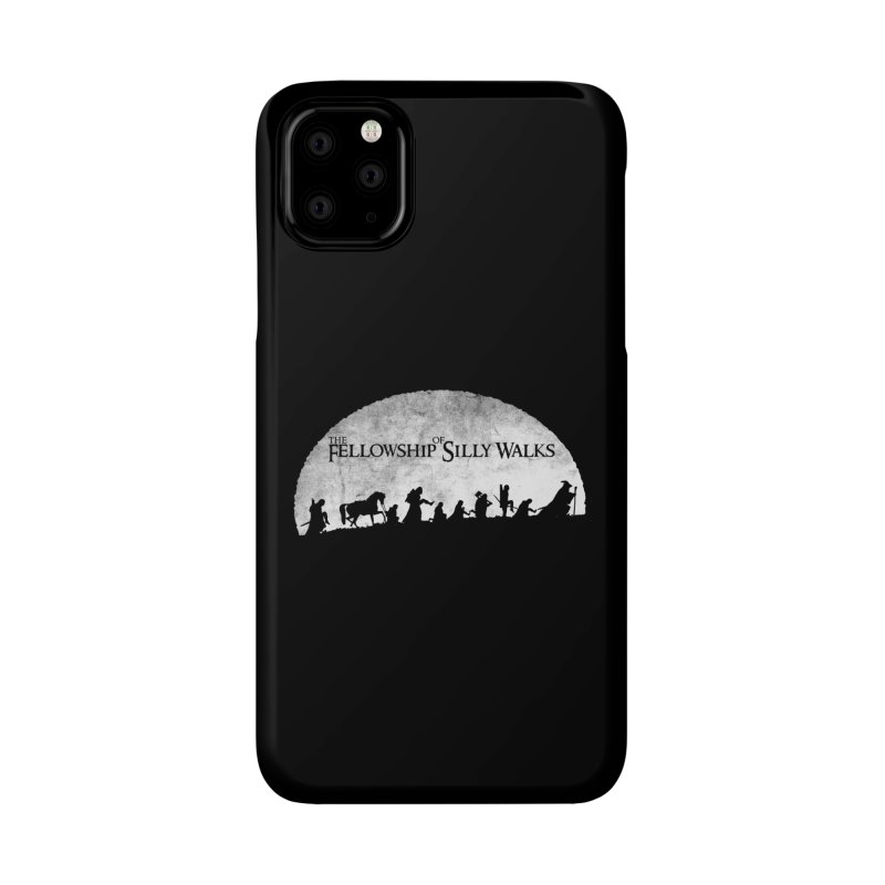 The Fellowship of Silly Walks Accessories Phone Case by ikado's Artist Shop
