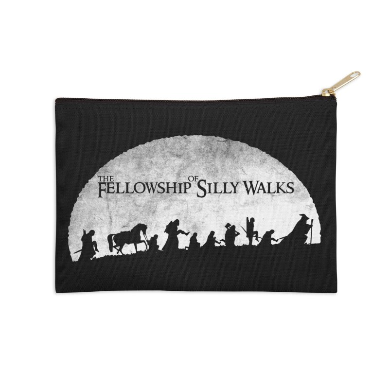 The Fellowship of Silly Walks Accessories Zip Pouch by ikado's Artist Shop