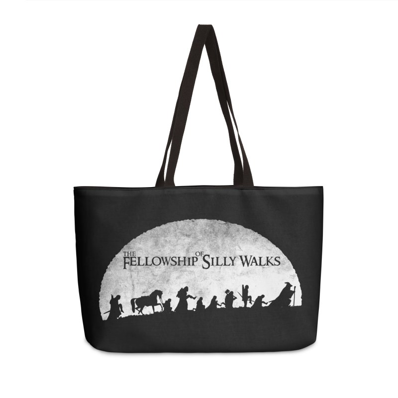 The Fellowship of Silly Walks Accessories Weekender Bag Bag by ikado's Artist Shop