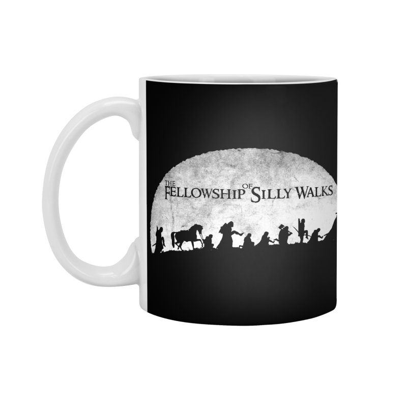 The Fellowship of Silly Walks Accessories Standard Mug by ikado's Artist Shop