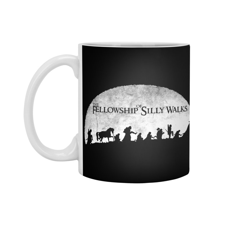 The Fellowship of Silly Walks Accessories Mug by ikado's Artist Shop