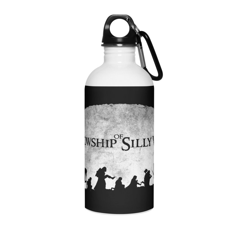 The Fellowship of Silly Walks Accessories Water Bottle by ikado's Artist Shop