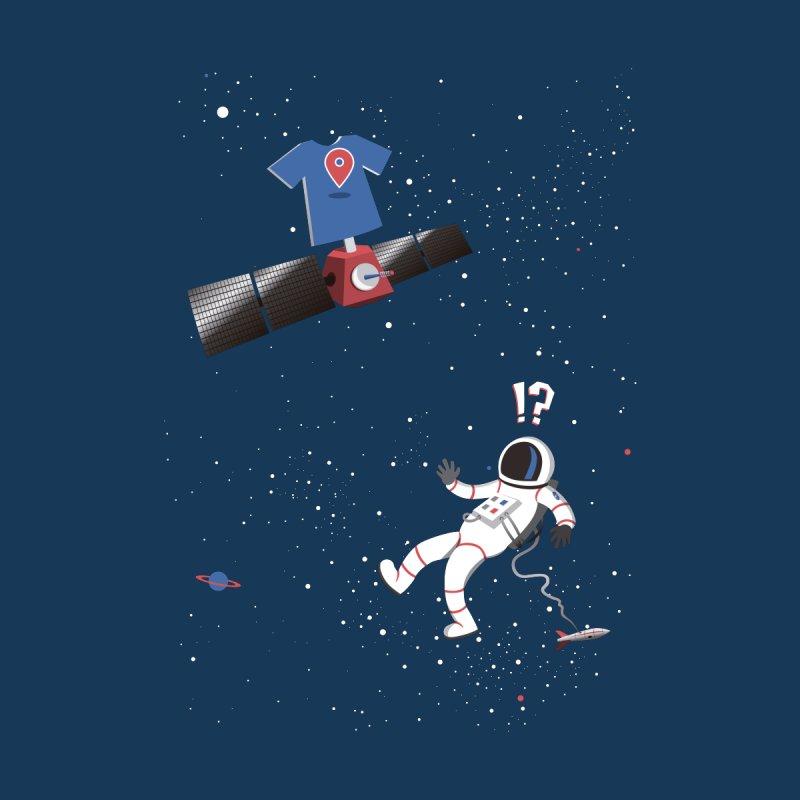 Lost in Meta Space Women's T-Shirt by ikado's Artist Shop