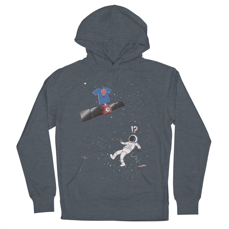 Lost in Meta Space Women's French Terry Pullover Hoody by ikado's Artist Shop