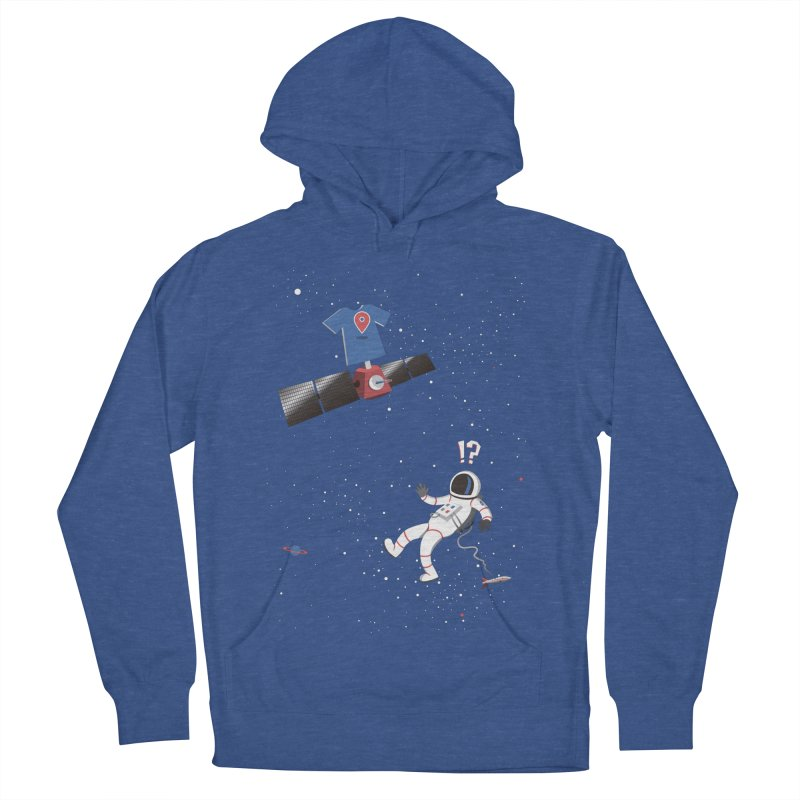 Lost in Meta Space Men's French Terry Pullover Hoody by ikado's Artist Shop