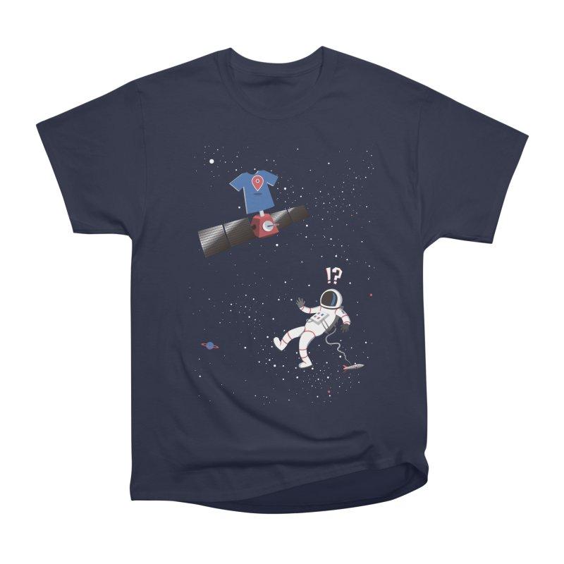 Lost in Meta Space Men's Heavyweight T-Shirt by ikado's Artist Shop