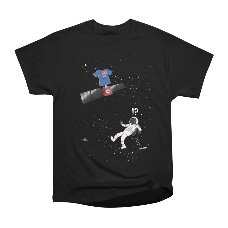 Lost in Meta Space Men's Heavyweight T-Shirt by ikado's Artist Shop