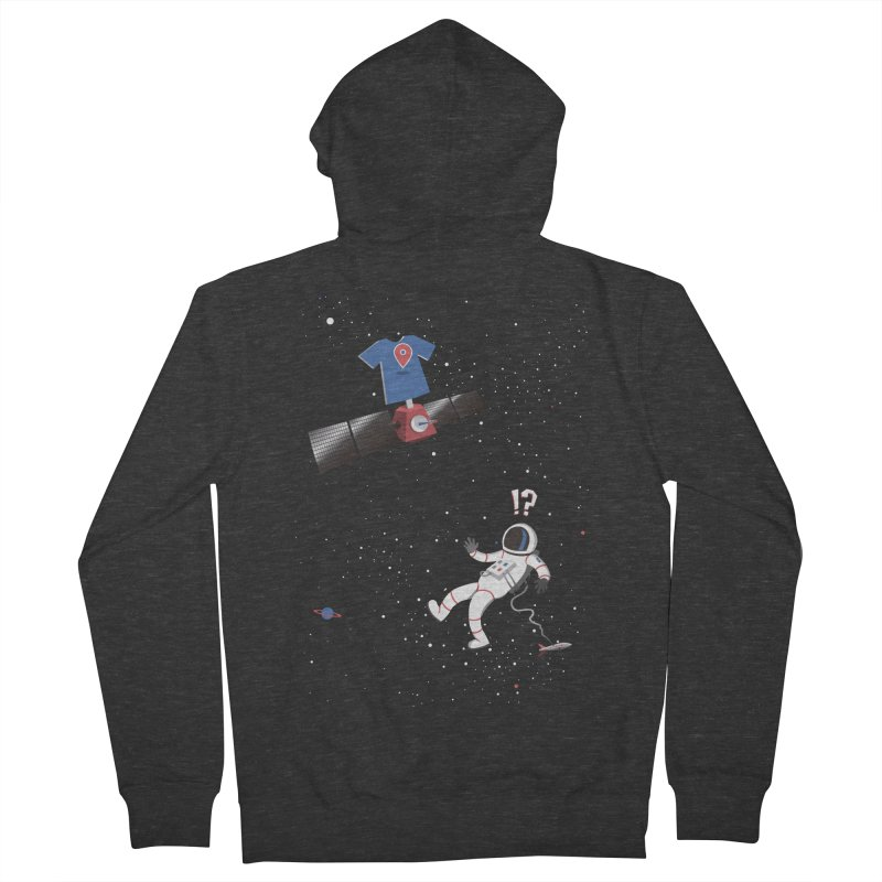 Lost in Meta Space Women's French Terry Zip-Up Hoody by ikado's Artist Shop