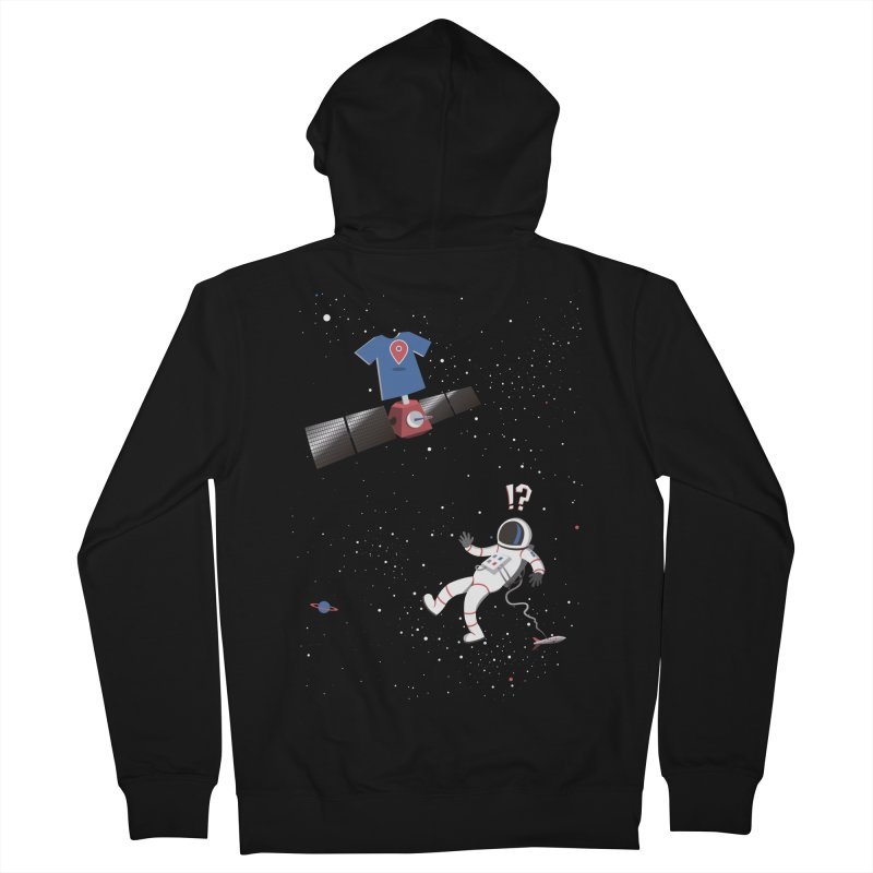 Lost in Meta Space Men's Zip-Up Hoody by ikado's Artist Shop