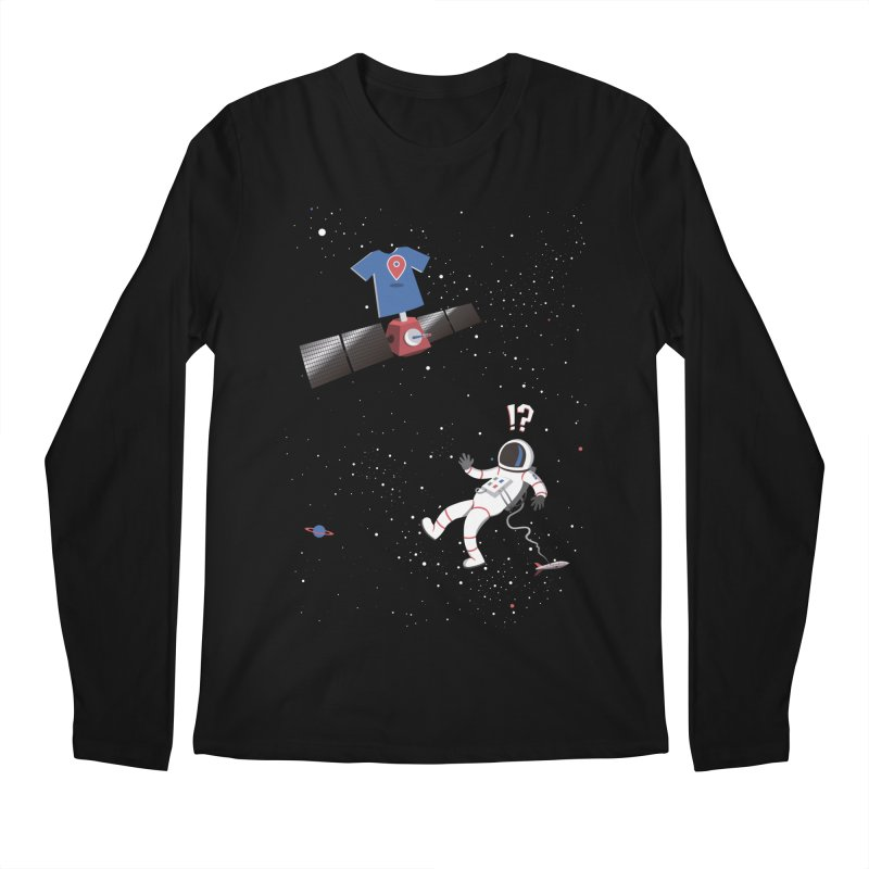 Lost in Meta Space Men's Longsleeve T-Shirt by ikado's Artist Shop