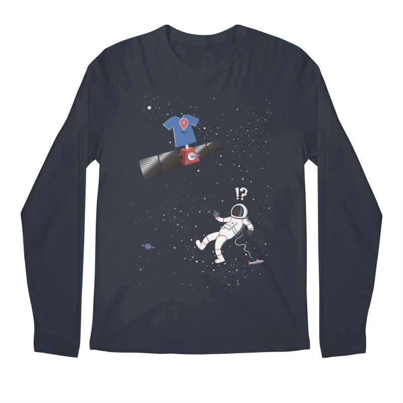 Lost in Meta Space Men's Regular Longsleeve T-Shirt by ikado's Artist Shop