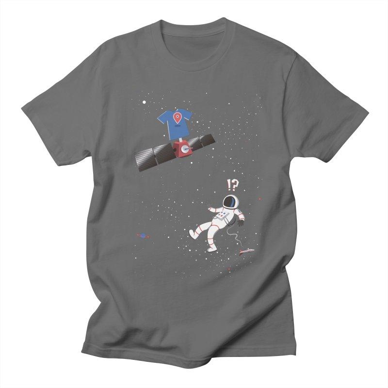 Lost in Meta Space Men's T-Shirt by ikado's Artist Shop