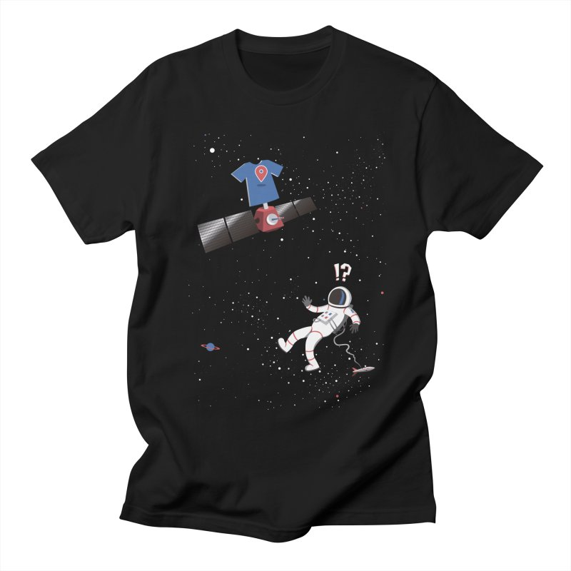 Lost in Meta Space Women's Unisex T-Shirt by ikado's Artist Shop
