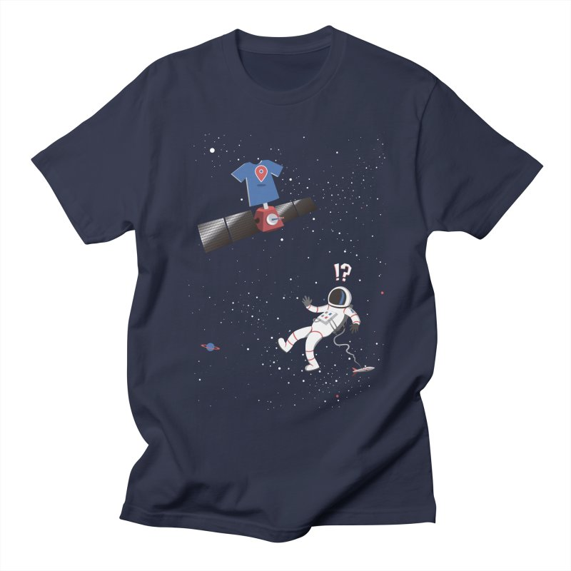 Lost in Meta Space Men's T-Shirt by ikado's Artist Shop